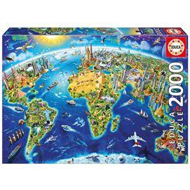 Puzzle 2000 simbolos del mundo - 04017129