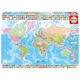 Puzzle 1500 mapa politico - 04017117