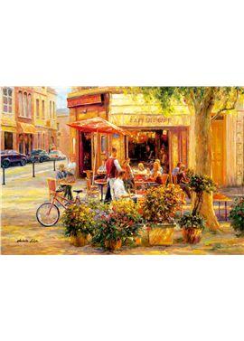 Puzzle 2000 corner cafe - 04017130