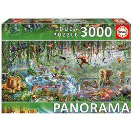 Puzzle 3000 vida salvaje panorama - 04017133