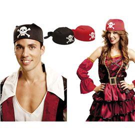 Bandana de pirata roja - 55201810