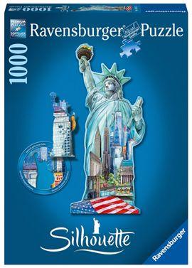 Puzzle 1000 pz estatua de la libertad, nueva york
