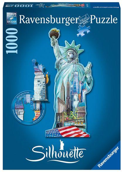 Puzzle 1000 pz estatua de la libertad, nueva york - 26916151