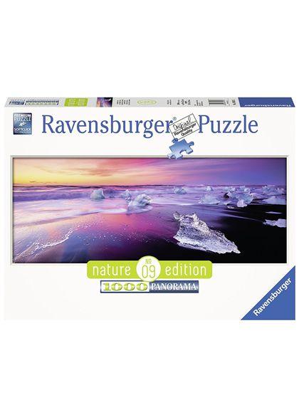Puzzle 1000 pz lago jökulsárlón, islanda - 26915075