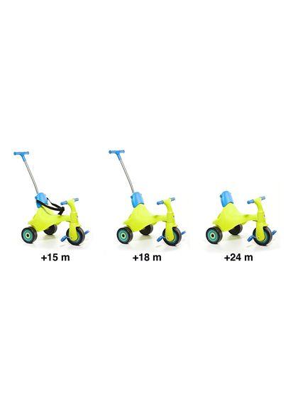 Triciclo con palo y cinturones - 26516217(3)