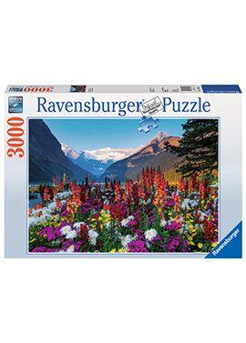 Puzzle 3000 pz las montañas floridas