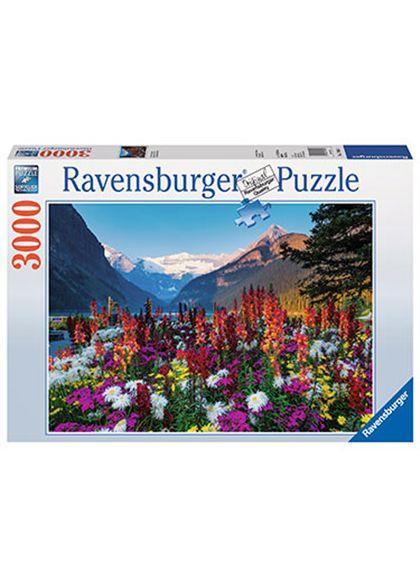 Puzzle 3000 pz las montañas floridas - 26917061