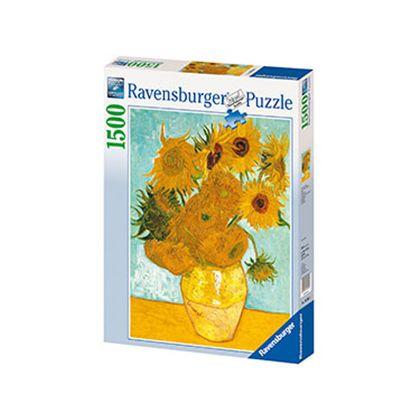 Puzzle 1500 van gogh: los girasoles - 26916206