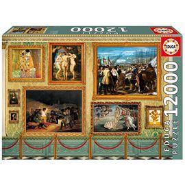 Puzzle 12000 grandes obras de arte - 04017137