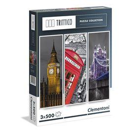 Puzzle 3 x 500 londres - 06639306