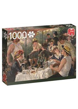 Puzzle 1000 renoir-almuerzo de los remeros- jumbo - 09518566(1)