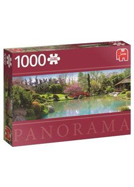 Puzzle 1000 jardin de colores panoramico- jumbo - 09518571(1)