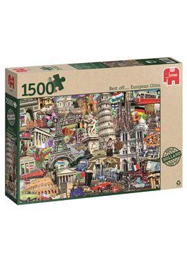 Puzzle 1500 lo mejor de ciudades europeas- - jumbo - 09518355(1)