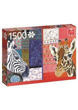 Puzzle 1500 eugen stross arte africano- jumbo - 09518585(1)