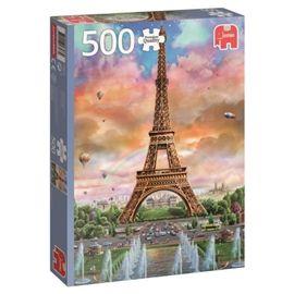 Puzzle 500 eiffel tower- jumbo - 09518533(1)