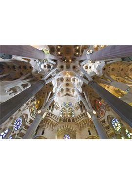 Puzzle 1000 sagrada familia barcelona- jumbo - 09518567