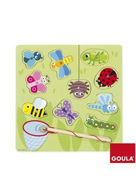 Puzzle bichos cazamariposas - 09553134
