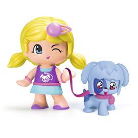 Pinypon figura con mascota perro - 13003813