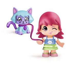 Pinypon figura con mascota gato - 13003812