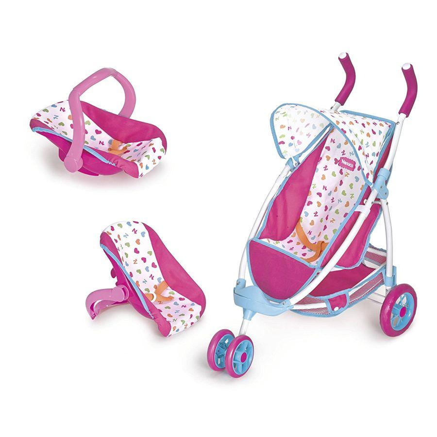 Nenuco silla con portabebe de coche for Coches con silla para bebe