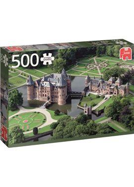Puzzle 500de haar castle netherlasnds- jumbo - 09518343