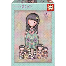 Puzzle 200 seven sisters gorjuss - 04017192