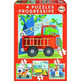 Puzzle 6-9-12-16 patrulla de rescate - 04017144