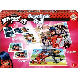 Educa superpack miraculous / ladybug - 04017259