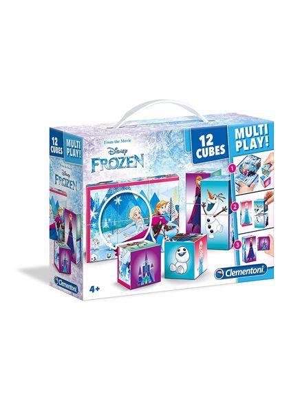 Rompecabezas 12 cubos frozen - 06641503