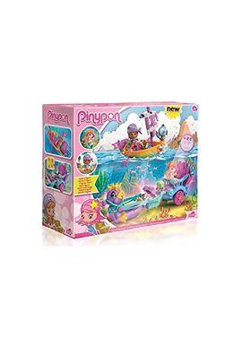 Pinypon carroza de sirenas y bote pirata - 13003059