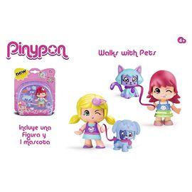 Pinypon figura con mascota - 13003056