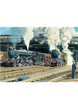 Puzzle 500 full steam ahead- falcon - 09511120
