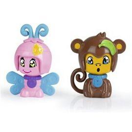Pinypon pack 2 mascotas: mariposa y mono - 13003729