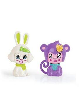 Pinypon pack 2 mascotas: conejo y mono - 13003730