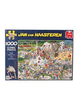 Puzzle 500 comic-el zoo- jan van haasteren - 09501491