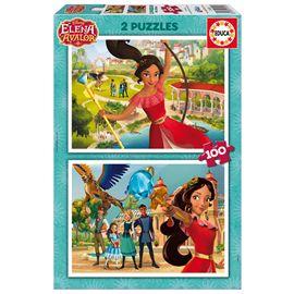 Puzzle 2x100 elena de avalor - 04017402