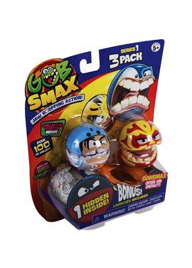 Gobsmax pack 3 con lanzador - 14732932