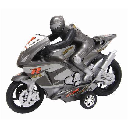 Moto con motorista friccion 24 cm - 89815162