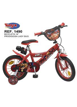 "Bicicleta 14"" prodigiosa ladybug - 34301490"