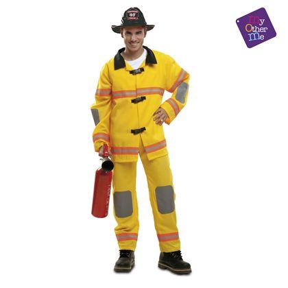 Bombero amarillo ml hombre ref.202118 - 55222118
