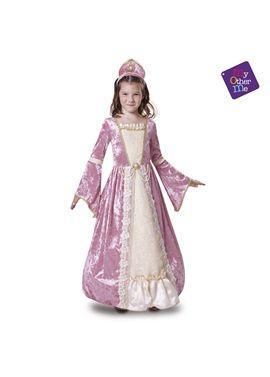 Princesa romántica rosa 10-12 años niña ref.200681 - 55220681