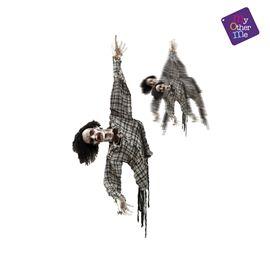 Zombie colgante con movtº, luz y sonido ref.203702 - 55223702
