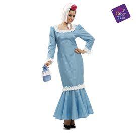 Madrileña azul mujer xl mujer ref.202322 - 55222322