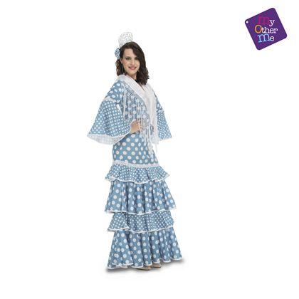 Flamenca huelva turquesa s mujer ref.202951 - 55222951