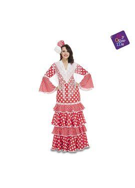 Flamenca sevilla rojo ml mujer ref.203848 - 55223848