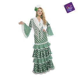 Flamenca giralda verde xl mujer ref.203856 - 55223856