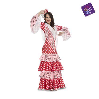Flamenca rocío rojo xl mujer ref.203863 - 55223863