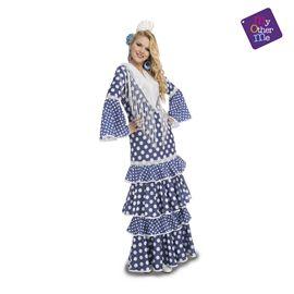 Flamenca alvero azul s mujer ref.204878
