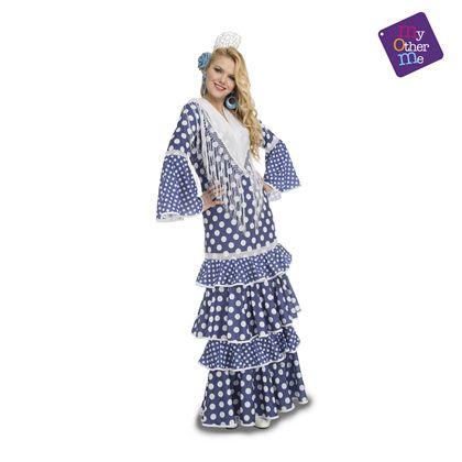 Flamenca alvero azul s mujer ref.204878 - 55224878