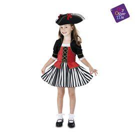 Pirata anne 5-6 años niña ref.203149